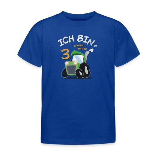 Kinder 3. Geburtstags Traktor Junge Shirt - Kinder T-Shirt