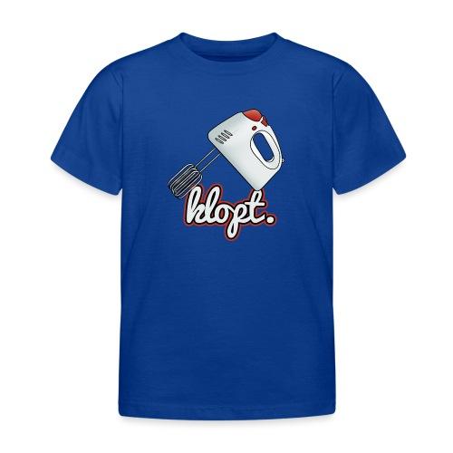 Klopt - Kinderen T-shirt