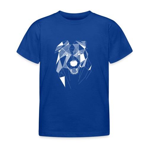 BorderCollie wit - Kinderen T-shirt