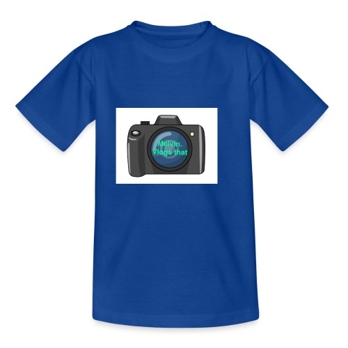 Melvin vlogs that merch - Kids' T-Shirt