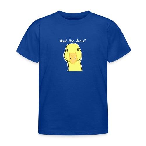 Duck you - Lasten t-paita