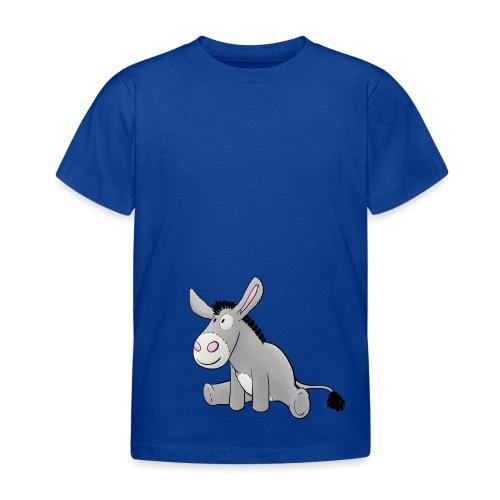 Esel - Kuschelesel sitzend - Kinder T-Shirt