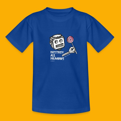 Dat Robot: Destroy Series Candy Dark - Kinderen T-shirt
