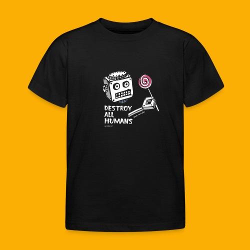 Dat Robot: Destroy Series Candy Dark - Kinderen T-shirt