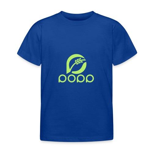 popp_logo_gruen - Kinder T-Shirt
