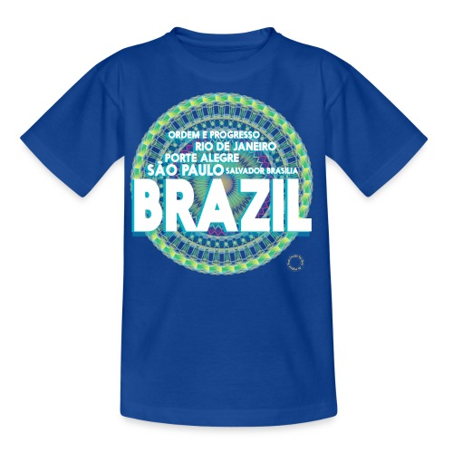 Lemon Brazil Mandala - T-shirt Enfant