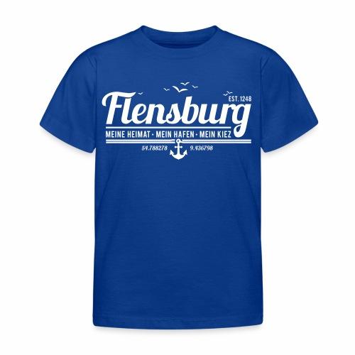 Flensburg - meine Heimat, mein Hafen, mein Kiez - Kinder T-Shirt