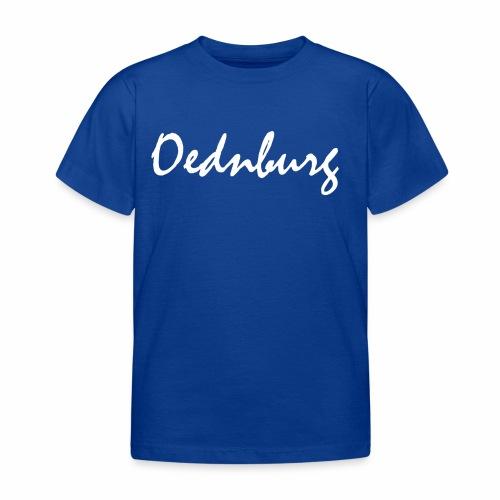 Oednburg Wit - Kinderen T-shirt