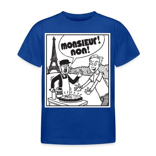 monsieur non - Kids' T-Shirt