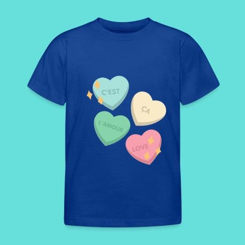 C'est ça l'amour, love - T-shirt Enfant