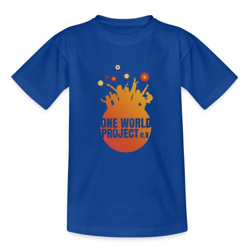 One World Project e. V. - Logo - Kinder T-Shirt