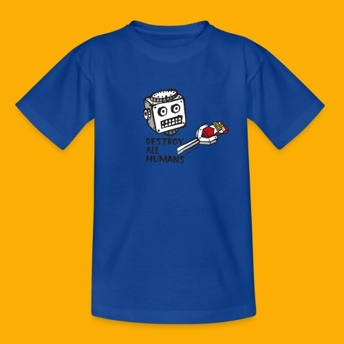 Dat Robot: Destroy Series Smoking Light - Kinderen T-shirt