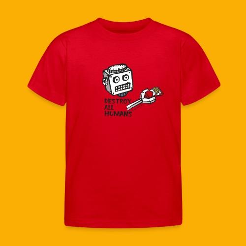 Dat Robot: Destroy Series Smoking Light - Kinderen T-shirt