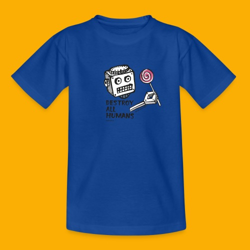 Dat Robot: Destroy Series Candy Light - Kinderen T-shirt