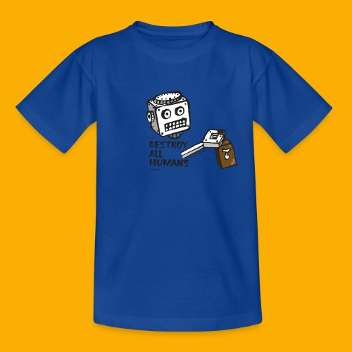 Dat Robot: Destroy Series Booze Light - Kinderen T-shirt