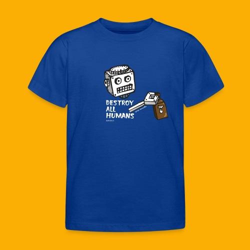 Dat Robot: Destroy Series Booze Light - Kinderen T-shirt