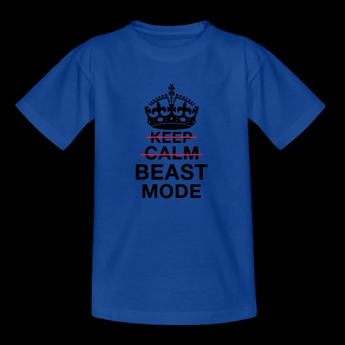 KeepCalm BeastMode - Kinder T-Shirt