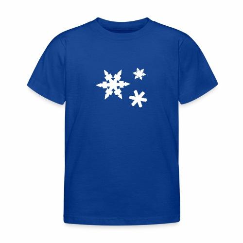 Schneeflocken - Kinder T-Shirt