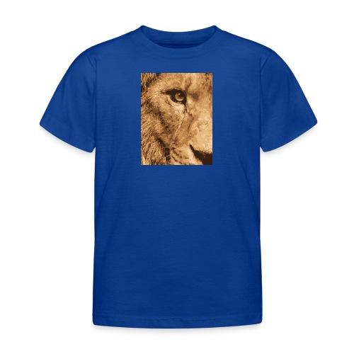 Lion eye - Kinder T-Shirt