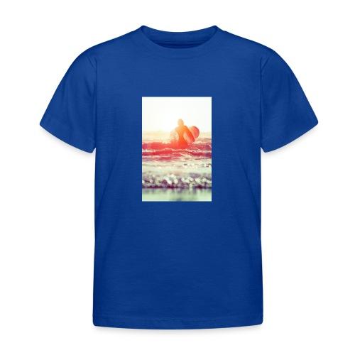 sunset surf jpg - Kids' T-Shirt