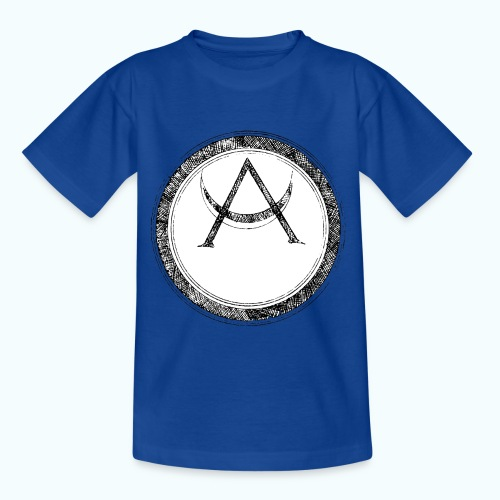 Mystic motif with sun and circle geometric - Kids' T-Shirt