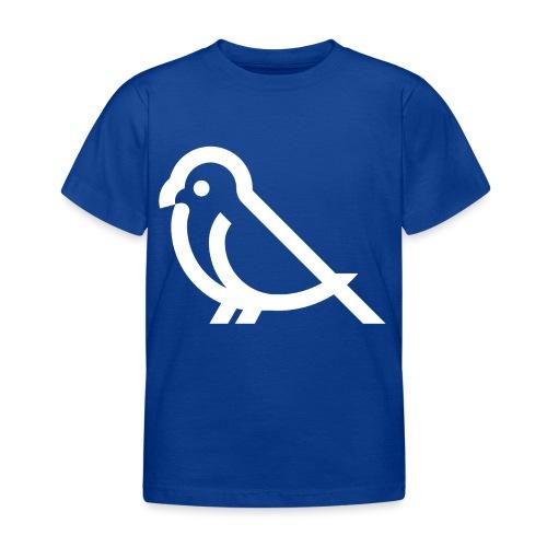 bird weiss - Kinder T-Shirt
