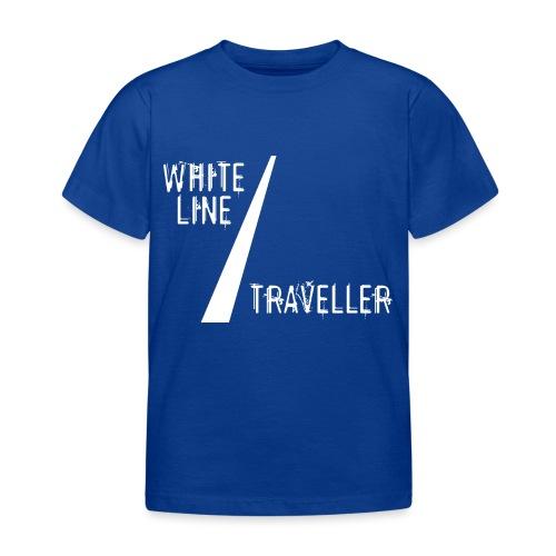 white line traveller - Kinderen T-shirt
