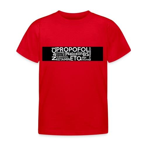Medikamente - Kinder T-Shirt