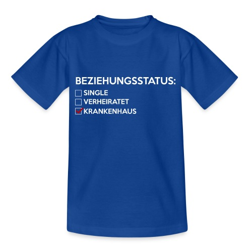 Beziehungsstatus - Krankenhaus - Kinder T-Shirt