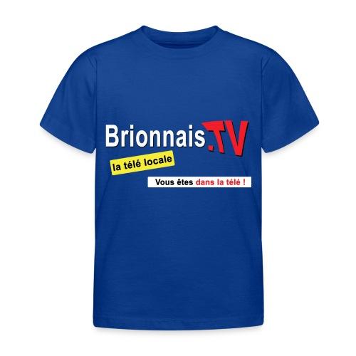 BTV logo shirt dos - T-shirt Enfant