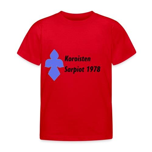 Koroisten Sarpiot - Lasten t-paita