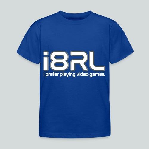 i8RL - I prefer playing video games. - T-shirt Enfant