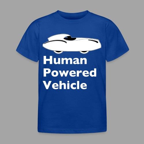 Quattrovelo Human Powered Vehicle white - Lasten t-paita