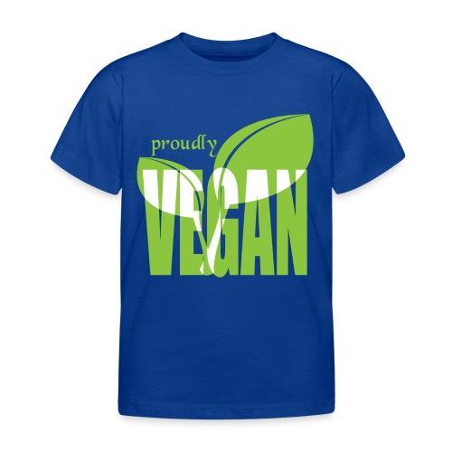proudly vegan - Kinder T-Shirt