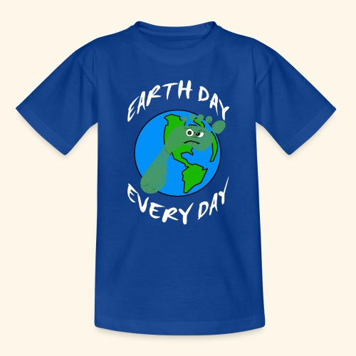Earth Day Every Day - Kinder T-Shirt