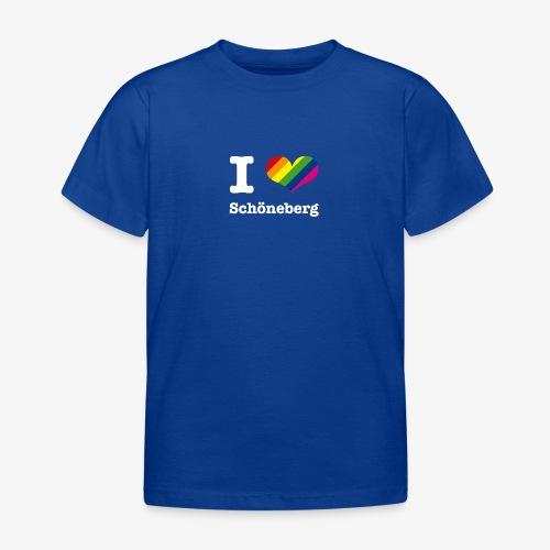 I love Schöneberg Rainbow - Kinder T-Shirt