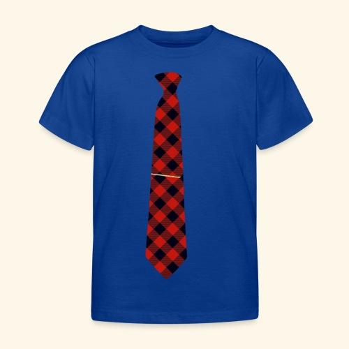 Krawatte 126 mit Goldnadel - Kinder T-Shirt