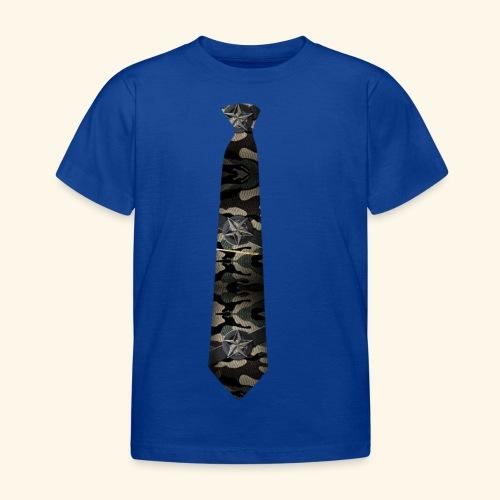 Krawatte 127 mit Goldnadel - Kinder T-Shirt