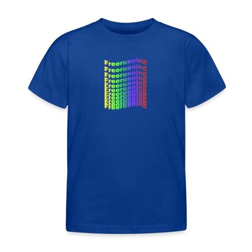 Freerunning Rainbow - Børne-T-shirt