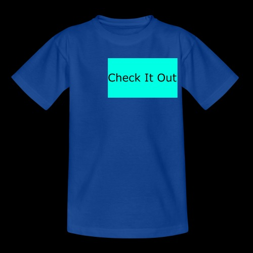 check it out - Kids' T-Shirt