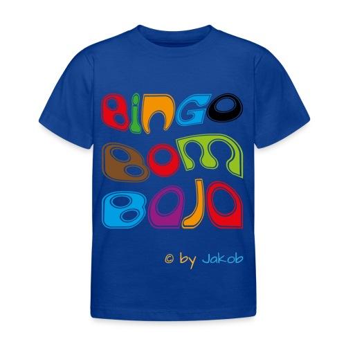 Bingobombaja - Kinder T-Shirt