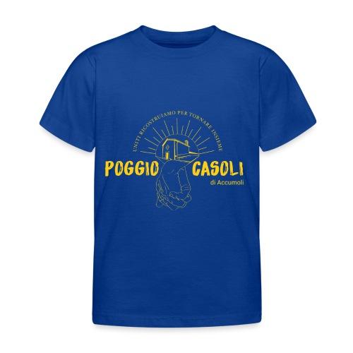Poggio Casoli_Istituzionale_Giallo - Maglietta per bambini