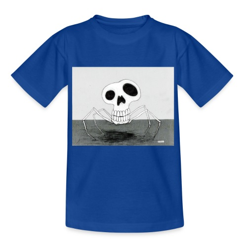 skull spider - T-shirt barn
