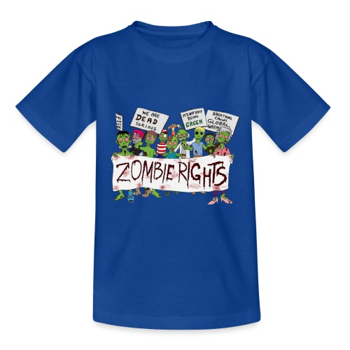 Zombie Rights Demo - Kids' T-Shirt