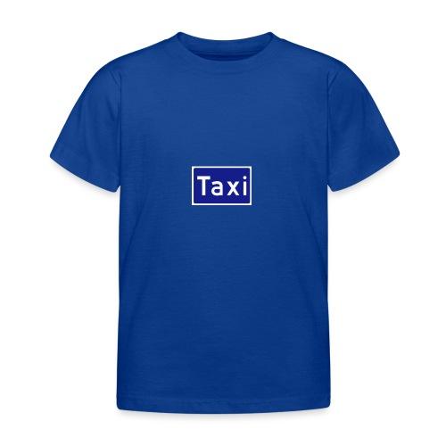 Taxi - T-skjorte for barn