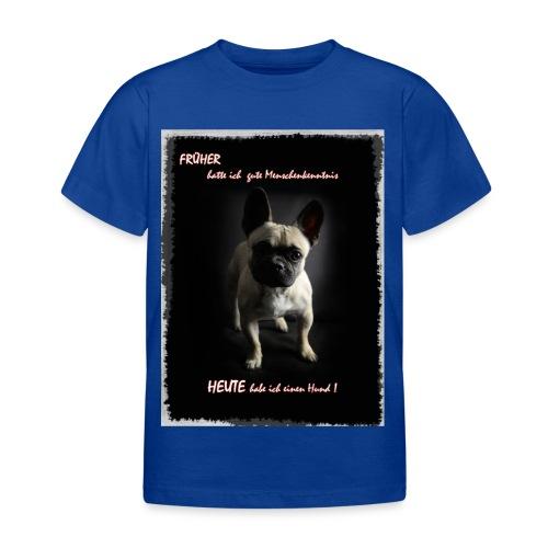 hunde sind die besten - Kinder T-Shirt
