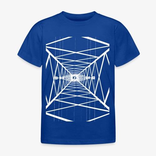 Hochmast V2 Weiß - Kinder T-Shirt