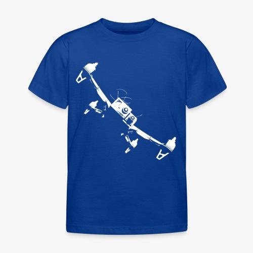 quadflyby2 - Kids' T-Shirt
