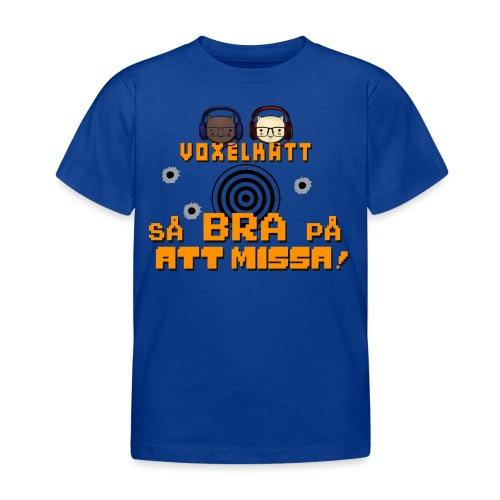 Voxelkatt BRA PÅ ATT MISSA - T-shirt barn