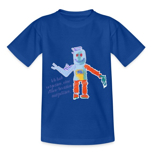 Alien Invasion - Kinder T-Shirt
